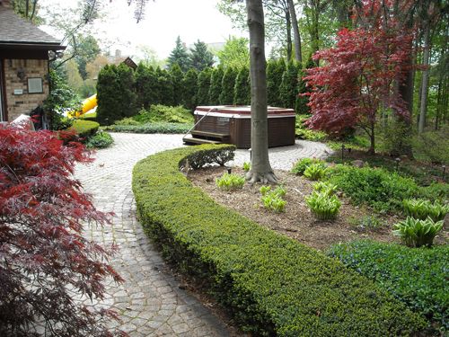 Landscape rochester michigan patio pavers and landscape for Landscape design michigan